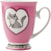 Maxwell & Williams Purrfect Mug, Purple, 290ml