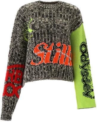 Calvin klein established 1978 intarsia pullover