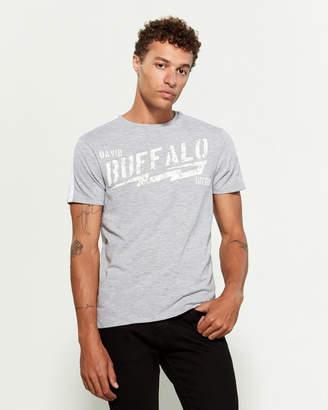 Buffalo David Bitton Faded Logo Short Sleeve Tee