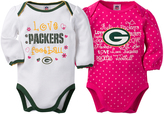 Gerber Green Bay Packers Pink Long-Sleeve Bodysuit - Infant