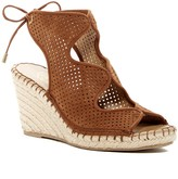 Franco Sarto Nash Perforated Wedge Sandal