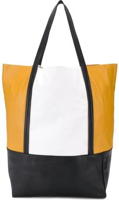 Plan C colour-block tote bag