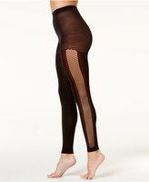 Hue Women's Fishnet Stripe Footless Tights