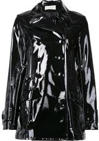 Faith Connexion glossy effect double breasted coat