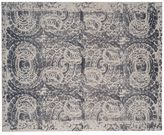 Pottery Barn Bosworth Printed Wool Rug - Gray