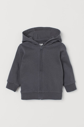 H&M Cotton zip-through hoodie