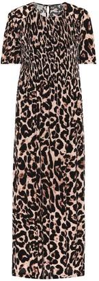 Baum und Pferdgarten Adamaris leopard-print midi dress