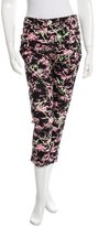 Love Moschino Printed Cropped Jeans w/ Tags