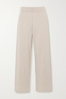 Le Kasha Ottawa Cashmere Straight-leg Pants - Beige