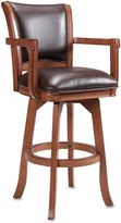 Hillsdale Rowan Bonded Leather 30-Inch Stool