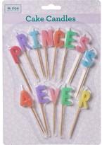 Rice Princess 4ever Candles
