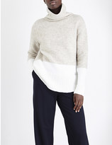 Allude Wool-blend turtleneck jumper