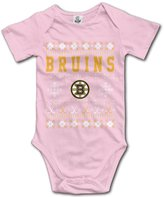 MonroeC Baby Boys Baby Girls Vintage Boston Bruins Onesie Outfits
