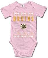 MonroeC Baby Boys Baby Girls Vintage Boston Bruins Onesies Outfits