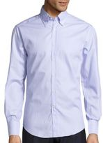 Brunello Cucinelli Solid Cotton Shirt