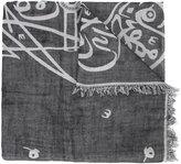 Thamanyah bleach print scarf