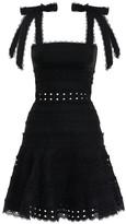 Zimmermann Kirra Tie Shoulder Mini Dress