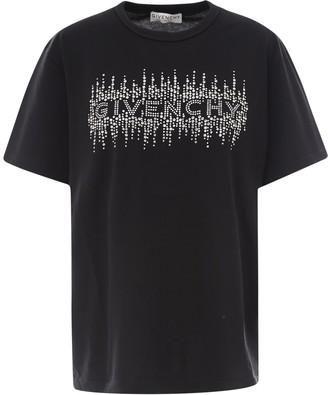Givenchy Logo Embellished T-Shirt