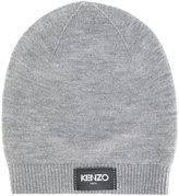Kenzo logo patch beanie