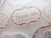 Martha Stewart Crafts Framed thank You Rub-on Transfers