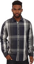 Howe Men's Diamond Rain Long Sleeve Flannel Button Up Shirt