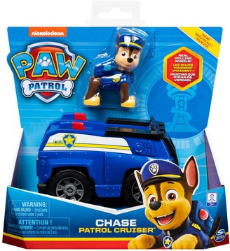Paw Patrol Police Cruiser Vehicle with Chase Figure
