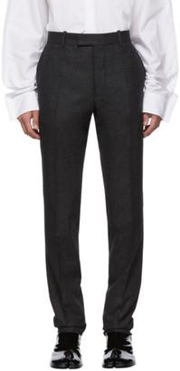 Maison Margiela Grey Wool Trousers