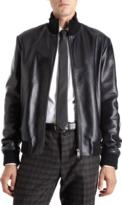 Jil Sander Leather Zip Blouson