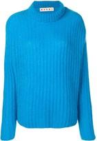 Marni ribbed chunky knit jumper