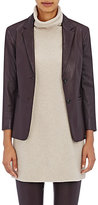The Row WOMEN'S NOLBON LAMBSKIN TWO-BUTTON JACKET