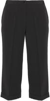 Karin Paul Plus Size Wide leg pleated trousers