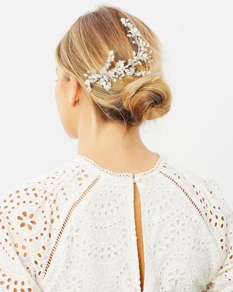 Ivory Knot Mel Hair Comb