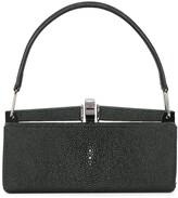 Giorgio Armani Pre Owned top handle clutch bag