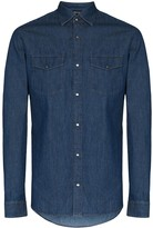 Ermenegildo Zegna long-sleeve denim shirt