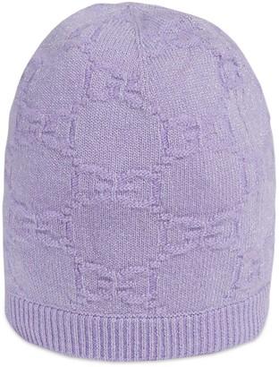 Gucci Children's GG sparkling wool hat