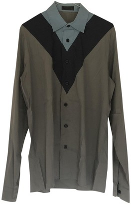 Prada Grey Cotton Top for Women Vintage