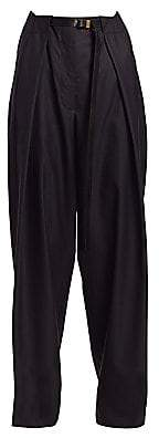 The Row Women's Brona Pleated Wool Trousers