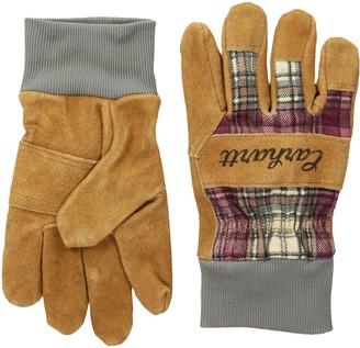 Carhartt Women's Suede Work Glove with Knit Cuff