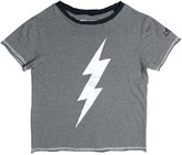Zadig & Voltaire Lightning Bolt Cotton Jersey T-Shirt