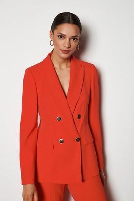 Karen Millen Tailored Double-Breasted Jacket
