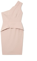 Vince Camuto One-shoulder Peplum Dress