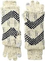 Muk Luks Women's Love America Three-In-One Gloves-Shag
