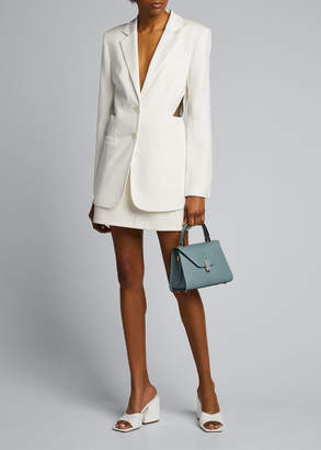 Tibi Soft Spring Suiting Cutout Blazer
