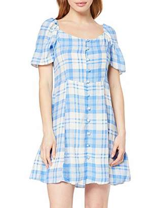 New Look Petite Women's Jules Check Dress,(Manufacturer Size:)