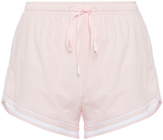 The Upside Kalia Perforated Stretch Shorts