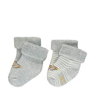 Steiff Baby Socken 2er Pack Socks, (Barely Pink 2560), 5