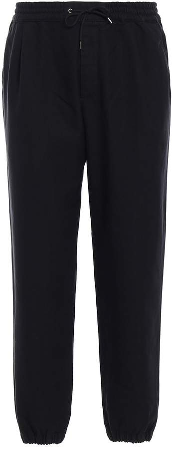 McQ Cotton Blend Sporty Chic Trousers