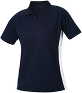 Clique Navy Arizona Polo - Plus Too