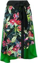 Barbara Bui floral print skirt