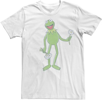 Disney Men's The Muppets Kermit The Frog Portrait Tee